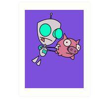 Mah Piggy Art Print