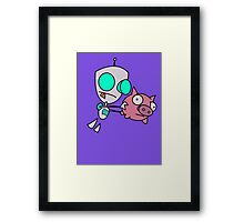 Mah Piggy Framed Print