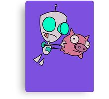 Mah Piggy Canvas Print