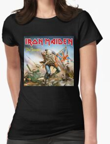 Iron Maiden The Trooper Womens Fitted T-Shirt