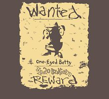 Wanted - One-Eyed Betty Unisex T-Shirt