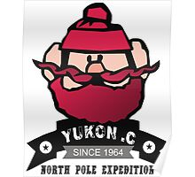 Yukon C North Pole Expedition Cool Design T Shirt Poster