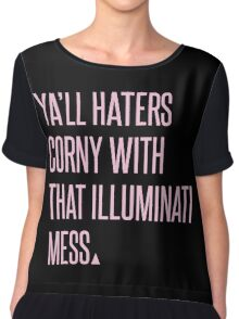 HATERS. Chiffon Top