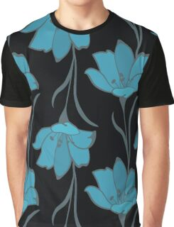 Seamless Flower  Buttercup  Pattern. Summer background garden Graphic T-Shirt