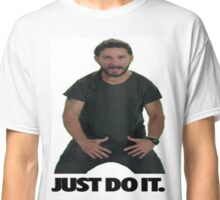 Shia LaBeouf Just Do It Classic T-Shirt