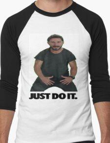 Shia LaBeouf Just Do It Men's Baseball ¾ T-Shirt