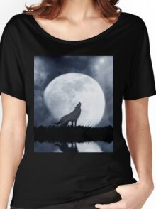 Wolf Moon Women's Relaxed Fit T-Shirt