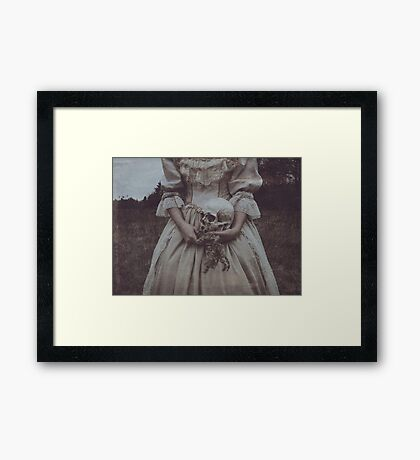 Nature Sufficeth unto Herself Framed Print