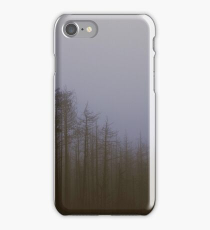 Fog and Needle iPhone Case/Skin