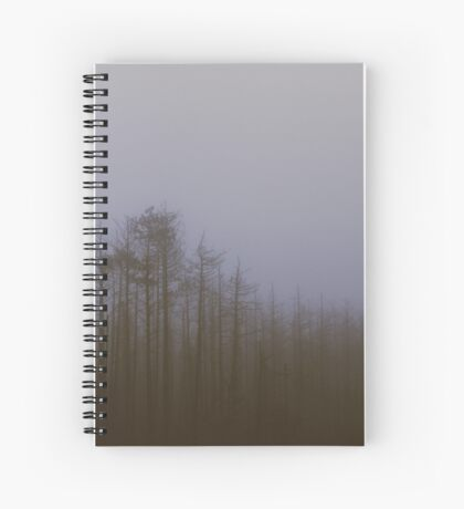 Fog and Needle Spiral Notebook