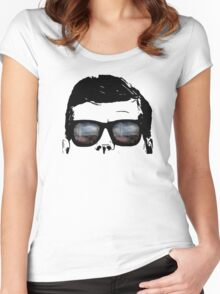 JFK Pop Art (Vector Variation) shirts Women's Fitted Scoop T-Shirt