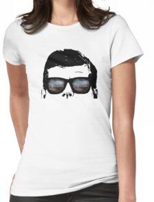 JFK Pop Art (Vector Variation) Womens Fitted T-Shirt