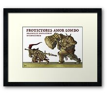 The Dragon Slayer and the Executioner Framed Print