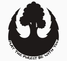 May the Forest be with you Emblem Kids Tee