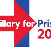 Hillary for Prison 2016 by Derp234