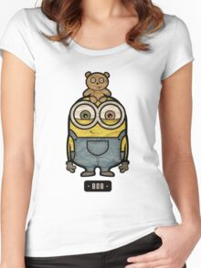 Minions Bob Women's Fitted Scoop T-Shirt