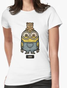 Minions Bob Womens Fitted T-Shirt