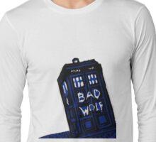 Bad Wolf Tardis Long Sleeve T-Shirt