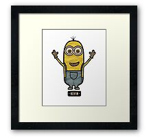 Minions Kevin Framed Print