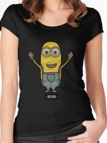 Minions Kevin Women's Fitted Scoop T-Shirt