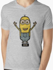 Minions Kevin Mens V-Neck T-Shirt