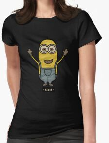 Minions Kevin Womens Fitted T-Shirt