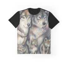 The Strength Of The Wolf Is The Pack Graphic T-Shirt