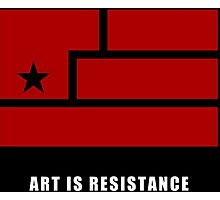 AIR -Art Is Resistance Photographic Print