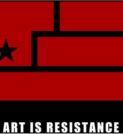 AIR -Art Is Resistance Sticker