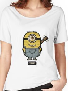 Minions Stuart Women's Relaxed Fit T-Shirt