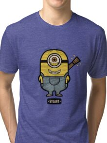 Minions Stuart Tri-blend T-Shirt