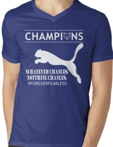 Leicester City FC champions Tshirts Mens V-Neck T-Shirt