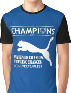 Leicester City FC champions Tshirts Graphic T-Shirt