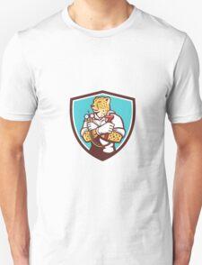 Cheetah Heating Specialist Crest Cartoon T-Shirt