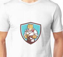 Cheetah Heating Specialist Crest Cartoon Unisex T-Shirt