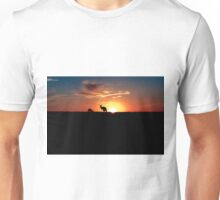 Kangaroos at Sunset Unisex T-Shirt