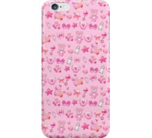 Sugar and Spice pink nursery patterns iPhone Case/Skin