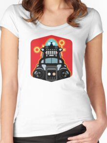 Robbie the Robot from Forbidden Planet Women's Fitted Scoop T-Shirt