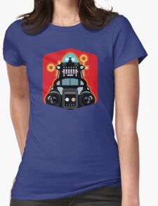 Robbie the Robot from Forbidden Planet Womens Fitted T-Shirt