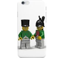 French Infantry Minifigs  iPhone Case/Skin