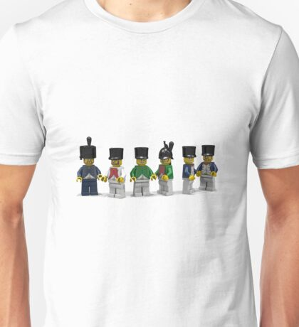 French Infantry Minifigs  Unisex T-Shirt