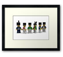 French Infantry Minifigs  Framed Print