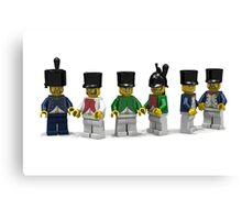 French Infantry Minifigs  Canvas Print