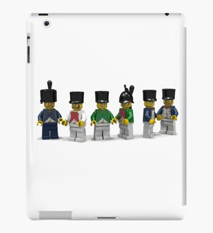 French Infantry Minifigs  iPad Case/Skin