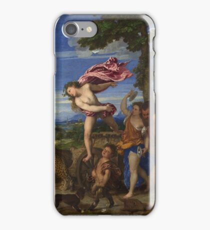 Tiziano Vecellio, Titian - Bacchus and Ariadne  iPhone Case/Skin
