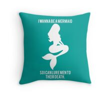 Mermaid Alt. Throw Pillow