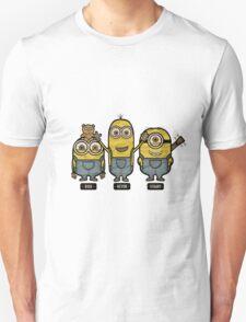 Minions Bob Kevin Stuart Unisex T-Shirt