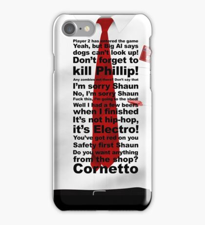 Of the Dead - Words edition iPhone Case/Skin