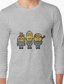 Minions Bob Kevin Stuart Long Sleeve T-Shirt