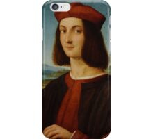 Raphael - Portrait of the Young Cardinal  iPhone Case/Skin